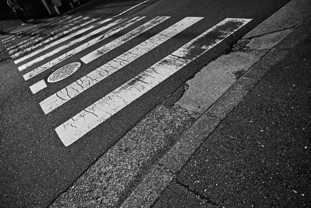 信号機のない横断歩道